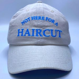 Haircut Dad Cap