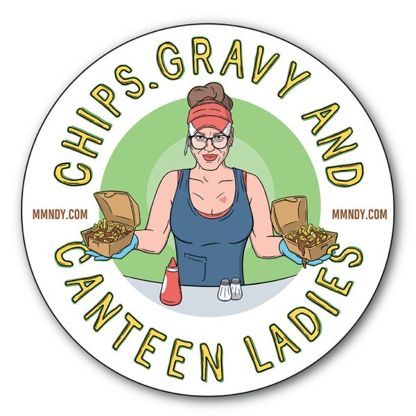 Chips Gravy Bumper Stickers WEB STORE